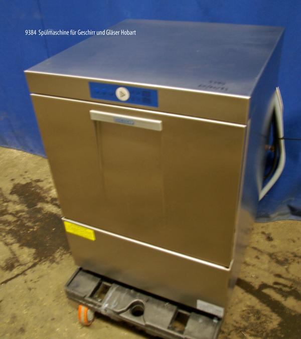 Spülmaschine für Geschirr und Gläser Hobart