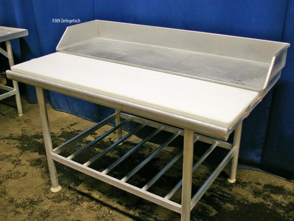 Tisch Alu 150x90x90 cm, Stufentisch
