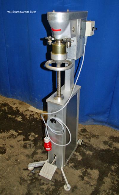 Dosenmaschine Tischo Standgerät