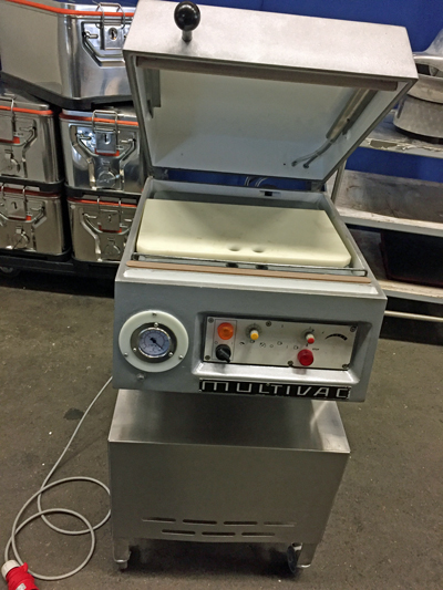 Vacuumgerät Multivac Standgerät fahrbar