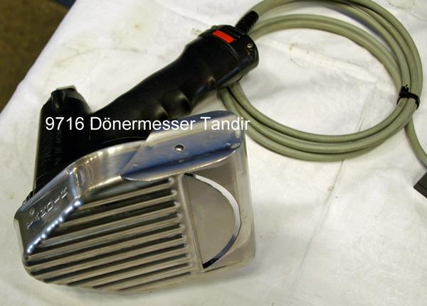 Tandir 120 Elektro Dönermesser Gyrosmesser