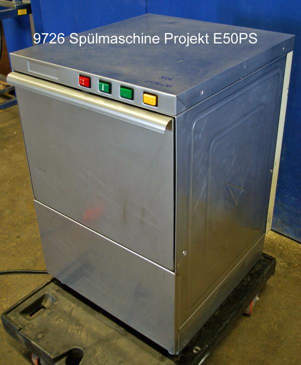 Spülmaschine für Gläser und Geschirr Project
