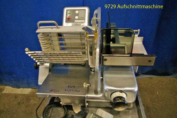 Aufschnittmaschine Bizerba VS7A