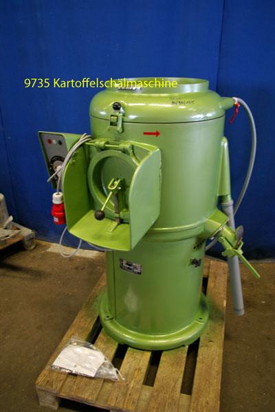 Kartoffelschälmaschine Flott Typ 25K