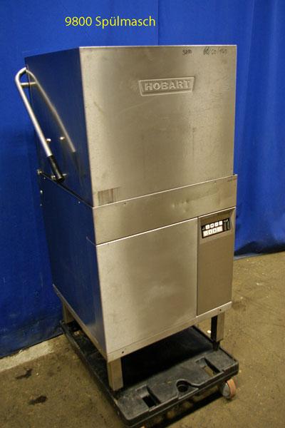 Spülmaschine für Geschirr und Gläser Hobart, Haubenspülmaschine