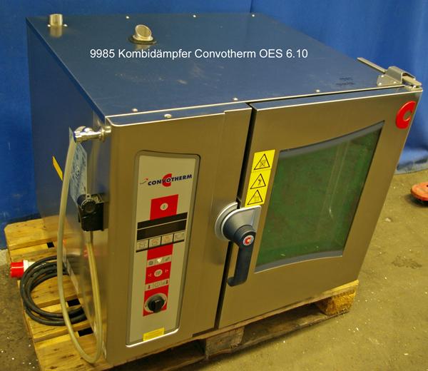 Kombidämpfer  6 x 1/1 GN, 400 V,  Convotherm