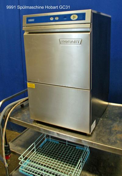 Spülmaschine für Gläser Hobart, Frontlader GC 31