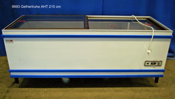 Gefriertruhe 211x80x85 cm AHT Tiefkühltruhe