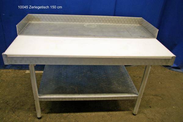 Tisch Alu Zerlegetisch 150x90x86 cm, Stufentisch