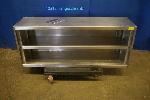 Hängeschrank Edelstahl offen150x40x60 cm