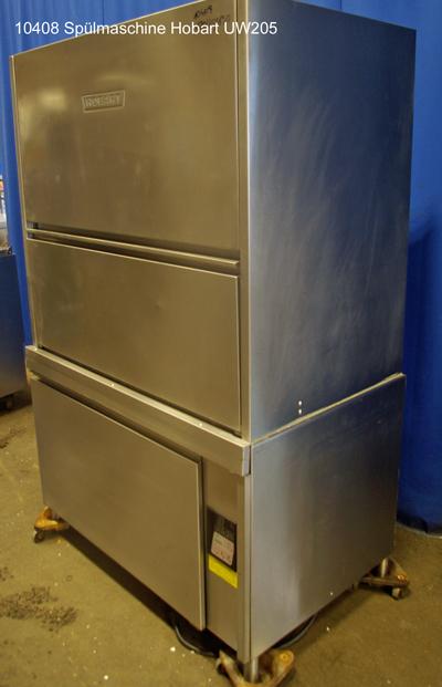 Spülmaschine für Kisten, Töpfe, Bleche usw. Hobart UW205