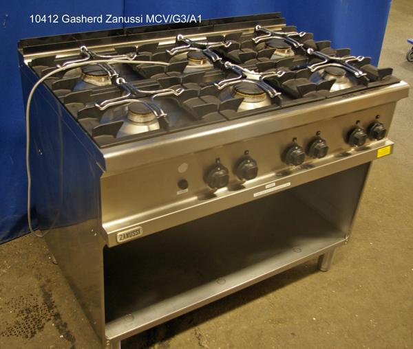 Herd Erdgas 6 Flammen Zanussi MCV/G3/A1