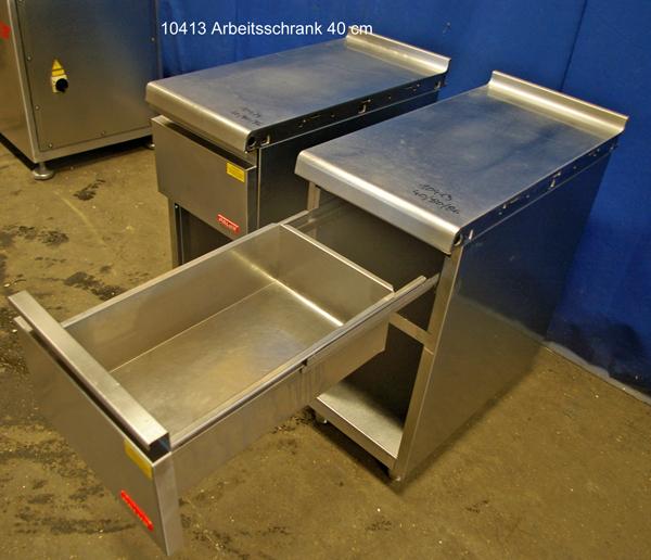 Arbeitsschrank Edelstahl 40x 80x86 cm