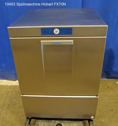 Spülmaschine für Geschirr und Gläser, Frontlader, Hobart Typ FX70N