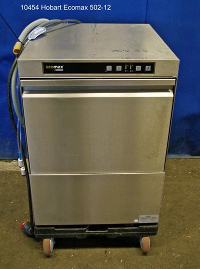 Spülmaschine für Geschirr und Gläser Hobart Typ Ecomax 502-12  Frontlader