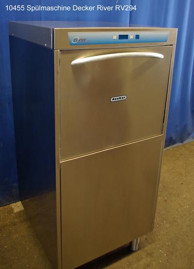 Spülmaschine für Geschirr, Töpfe und Gläser Decker Typ River RV 294, Frontlader