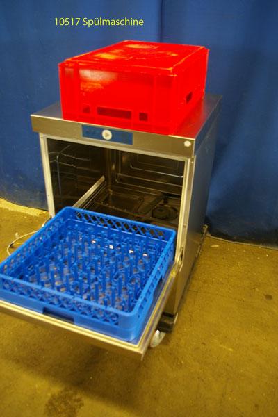 Spülmaschine für Geschirr, Gläser und Eurokisten (60x40 cm) Frontlader Hobart FX 70 N Bäkoline