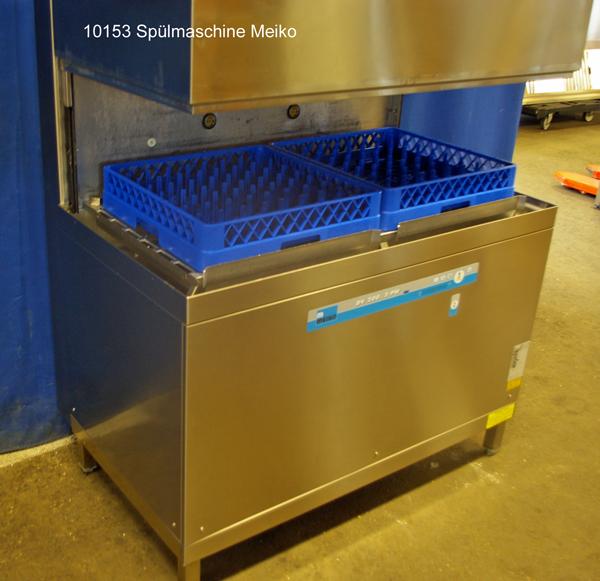 Spülmaschine für Geschirr, Gläser und Töpfe Meiko  Haubenmaschine Typ DV200.2PW