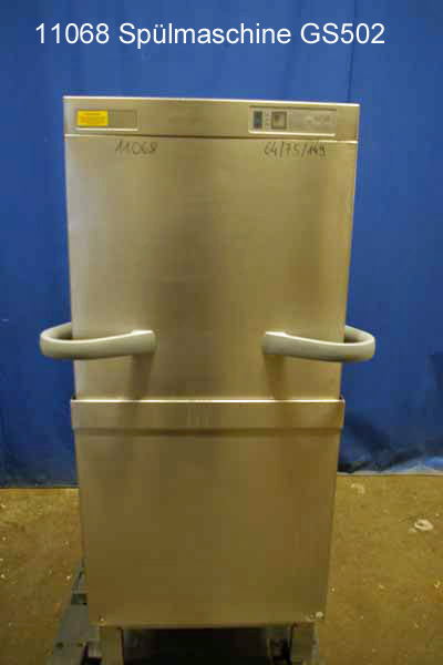 Spülmaschine für Geschirr und Gläser Haubenspülmaschine Winterhalter GS502, 400 V
