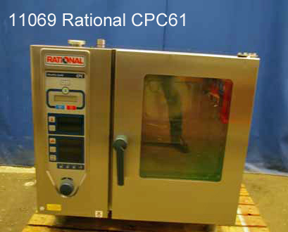 Kombidämpfer   6 x1/1 GN Rational CPC 61, 400 V , EN Bäckernorm 40x60 cm