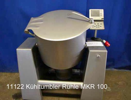 Mengtumbler / Kühltumbler Poltermaschine Rühle 100 l, MKR 100