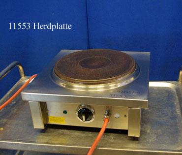 Herd 1 Platte, Tischgerät 400 V