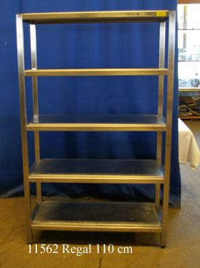 Regal Edelstahl 110x50x180 cm